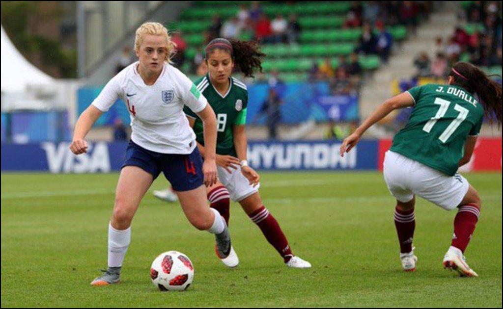 Inglaterra golea a México y las elimina del Mundial Femenil sub-20