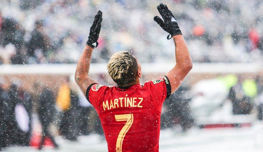Josef Martínez rompió récord de goleo en la MLS y aquí tenemos sus 28 goles