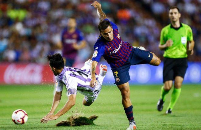 La Liga española abre expediente disciplinario al Valladolid por condiciones de su cancha