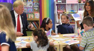 Putin, ¿eres tú? Trump se equivoca y así deja a la bandera de EU