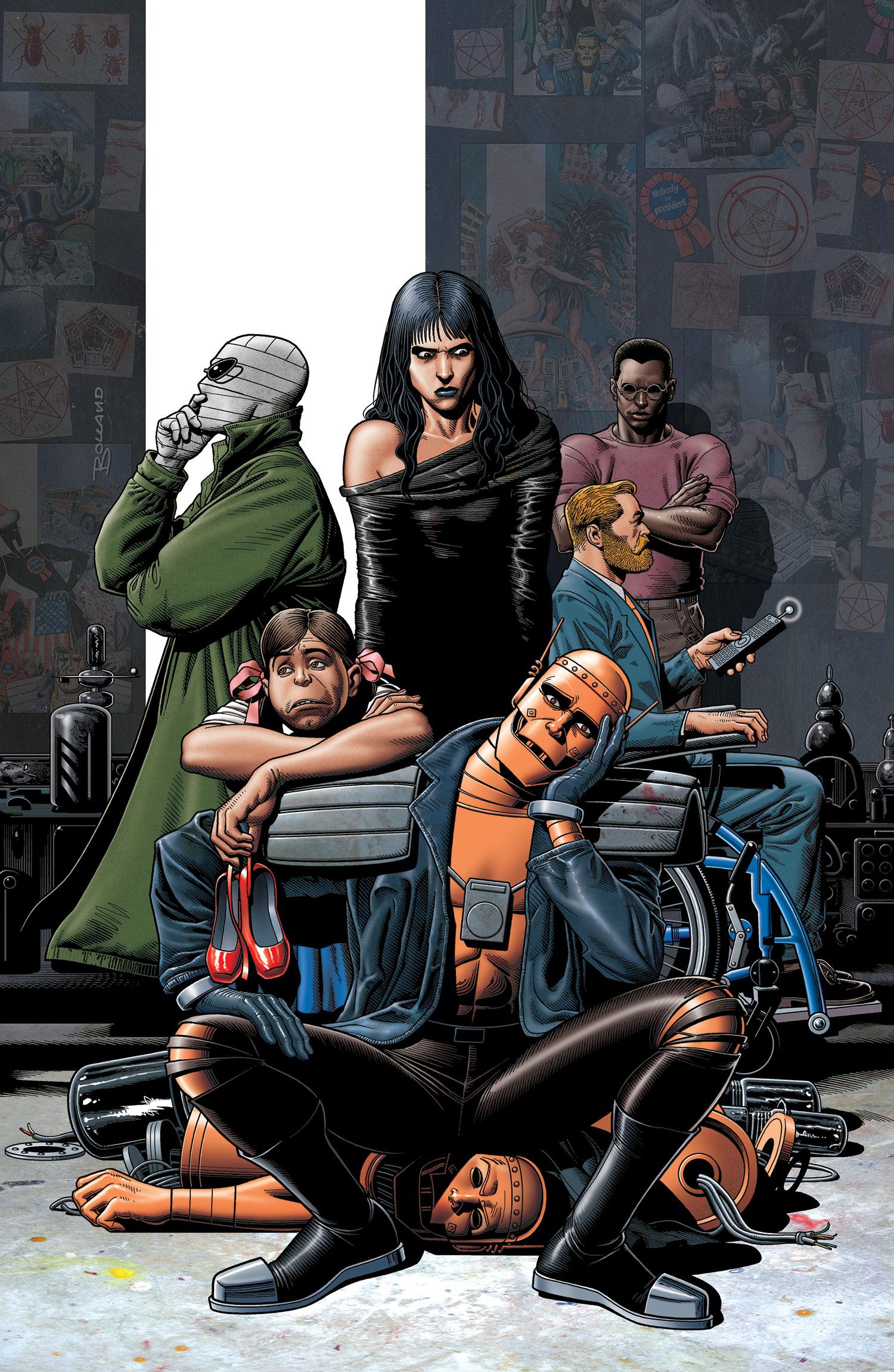 """Diane Guerrero entrará al Universo DC como """"Crazy Jane"""" de Doom Patrol"""