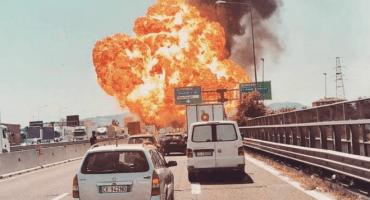 Video: explosión cerca del Aeropuerto de Bolonia sorprende a civiles