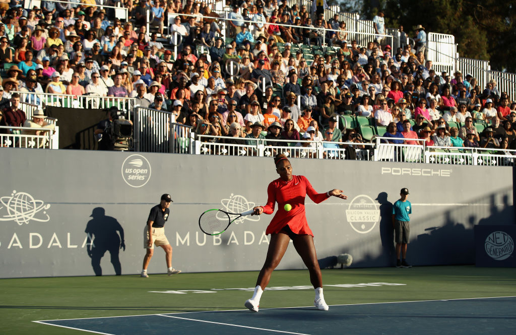 La tenista estadounidense Serena Williams sufre la peor derrota en su carrera