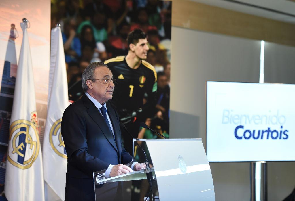 15 imágenes de la presentación de Thibaut Courtois con el Real Madrid