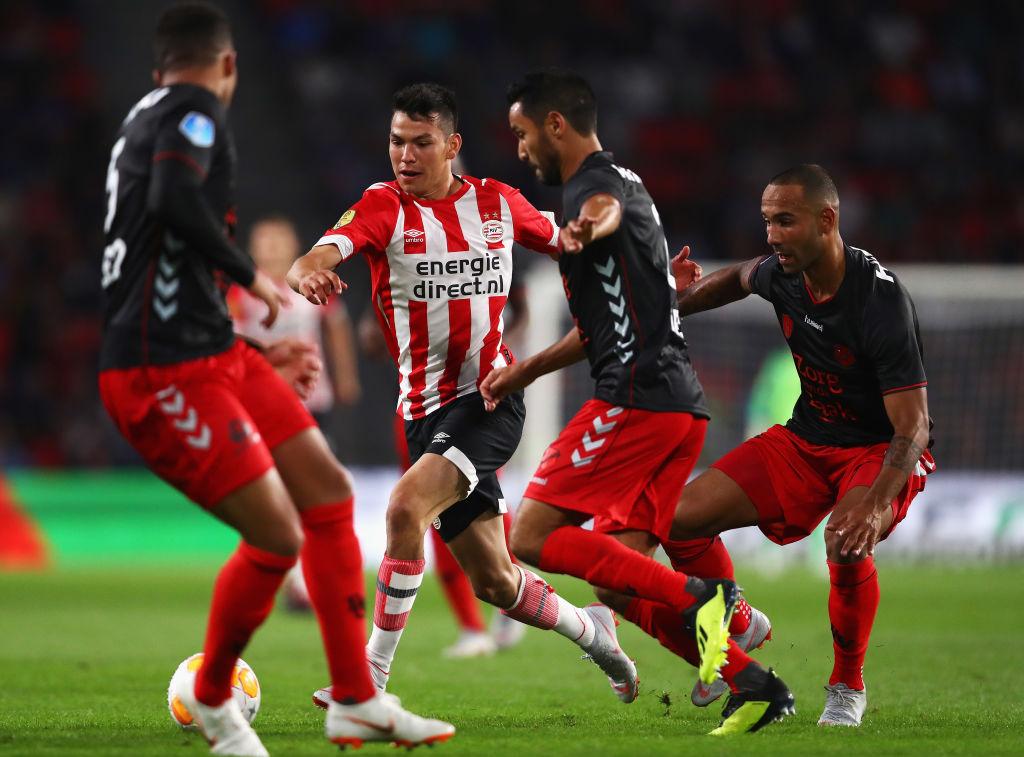 Chucky y PSV vs Bate Borisov por el pase a Champions League