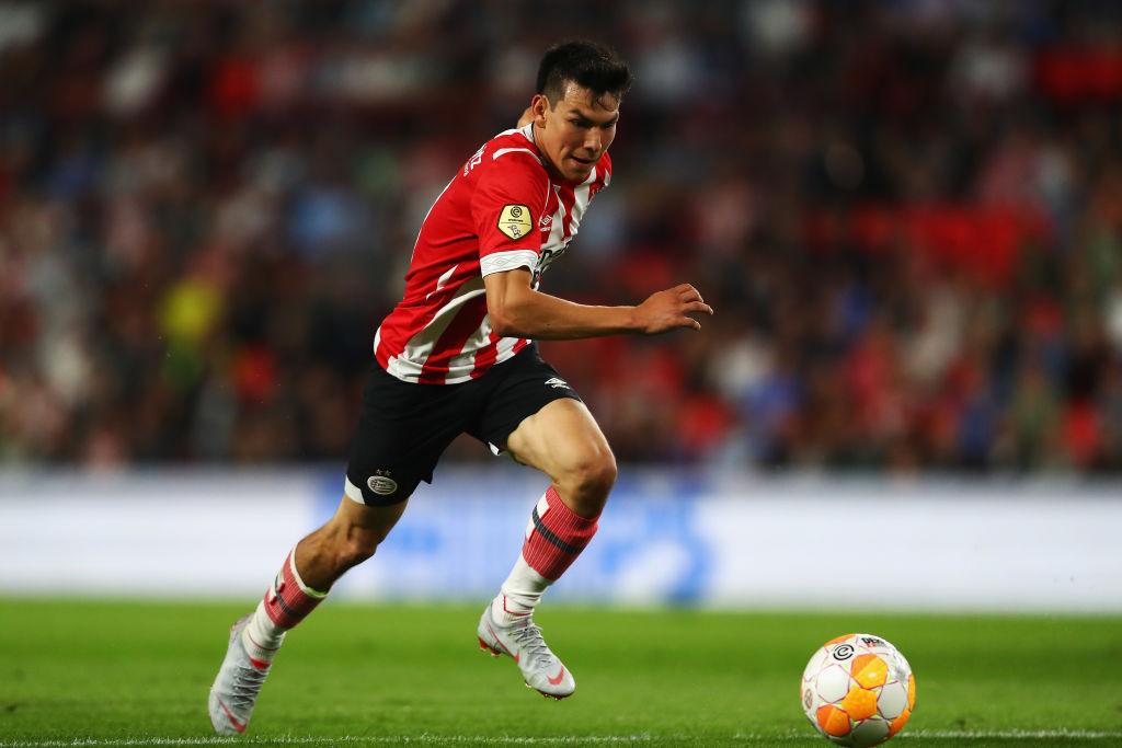 'Chucky' Lozano es el mexicano número 24 en llegar a la Champions League
