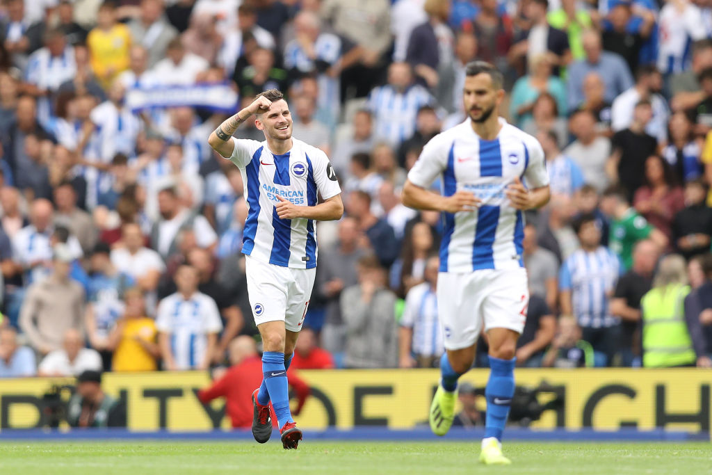Brighton sorprendió con goleada al Manchester United en la Premier League