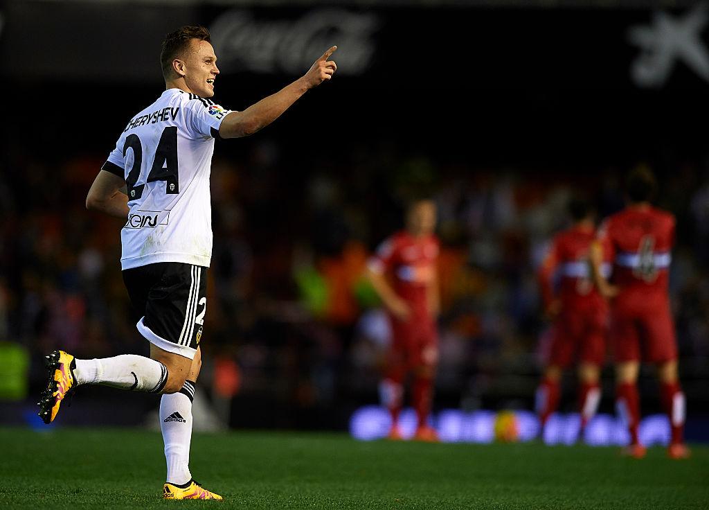 Denis Cheryshev cedido por Villarreal y llega al Valencia