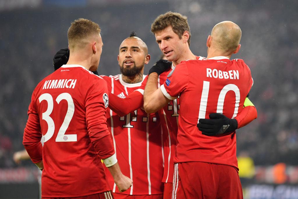 Arturo Vidal recibió emotivas palabras de sus compañeros del Bayern Munich