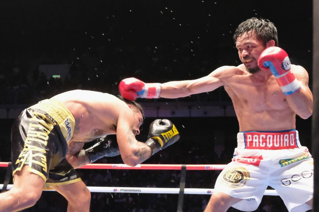 Manny Pacquiao se reunió con Bob Arum y genera intriga por posible regreso