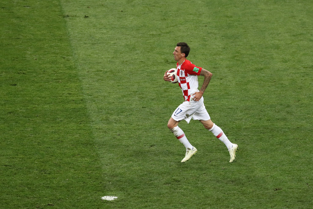 Oficial: Mario Mandzukic anunció su retiro de la Selección de Croacia