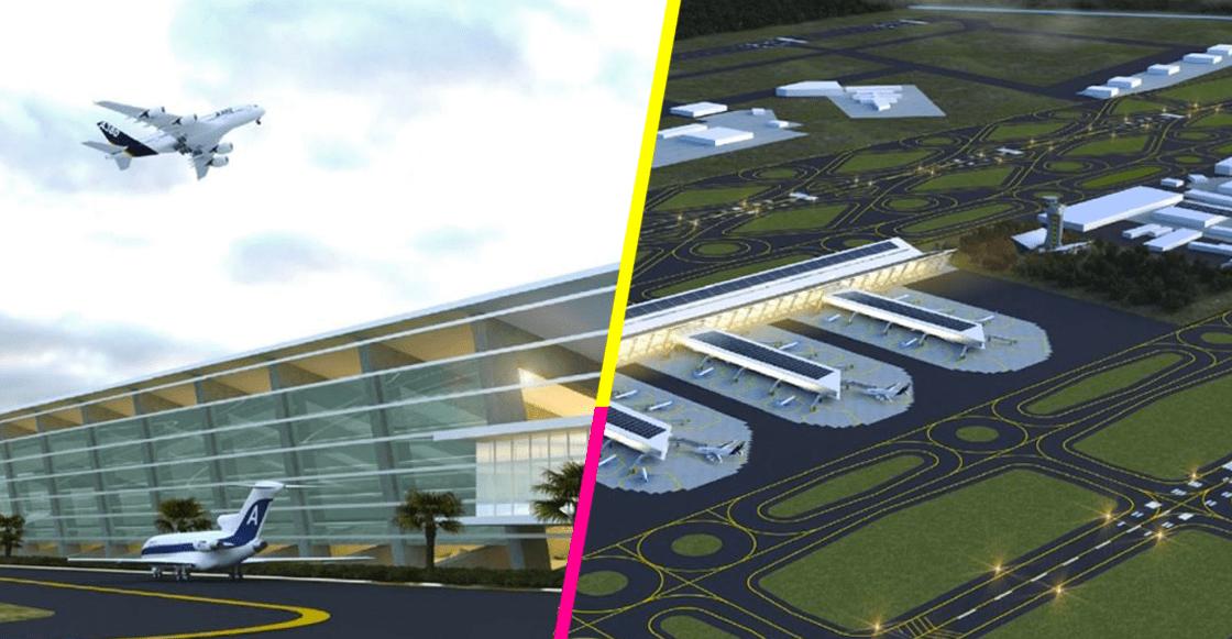 Grupo Riobóo se destapa y presenta renders del aeropuerto de Santa Lucía