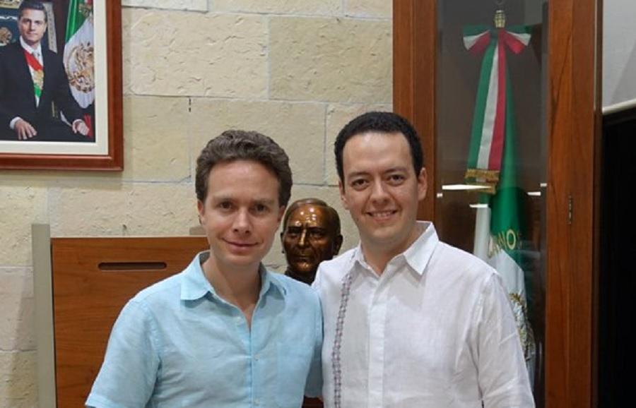 Humberto Pedrero y MAnuel velasco