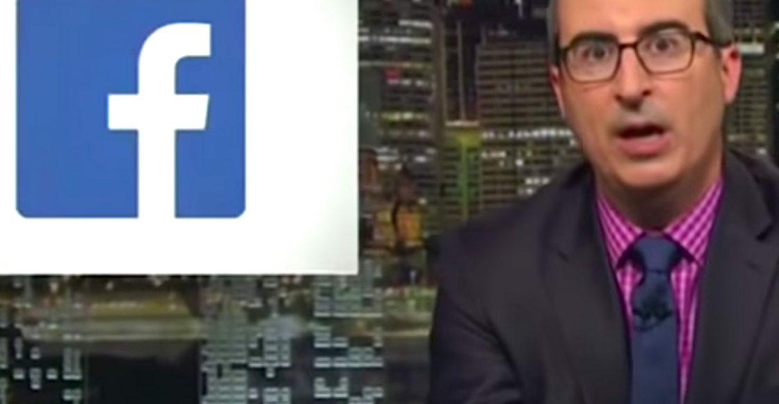 Video de John Oliver sobre Facebook