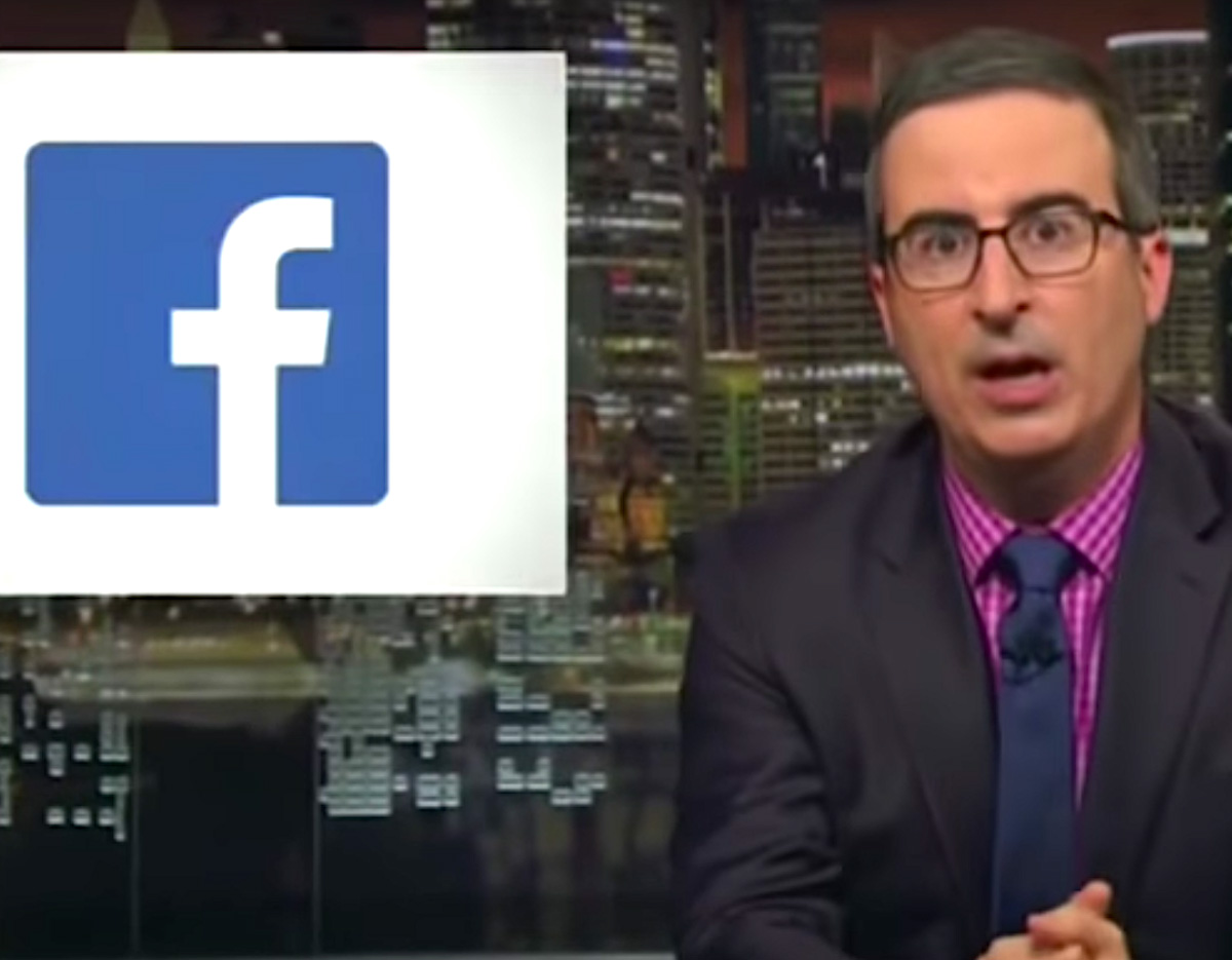 Video de John Oliver sobre Facebook