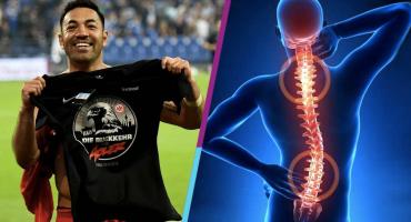 ¿Qué tan grave o no es la lesión de espalda de Marco Fabián?