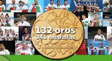 ¡Gracias Barranquilla 2018! México hizo historia en los Juegos Centroamericanos