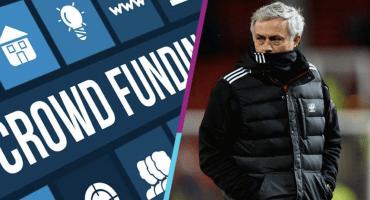 Aficionado del Manchester United 'hace una coperacha' para despedir a Mourinho
