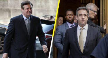 ¡Tsss! Resultan culpables Manafort y Cohen, exjefe de campaña y exabogado de Trump