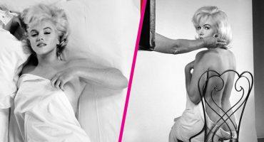 ¡Aparecieron imágenes del desnudo de Marilyn Monroe que se creían destruidas!