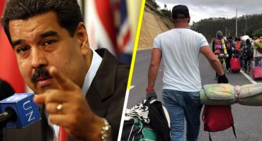 Violencia contra migrantes de Venezuela es orquestada por la 'oligarquía': Maduro