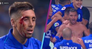 Con golazo de Tecatito y corte de ceja de Herrera, Porto es supercampeón