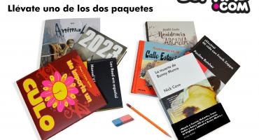 ¡Gana un paquete de libros de Malpaso y dib>buks para este inicio de clases!