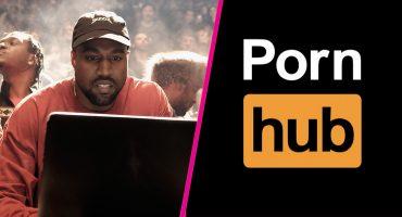 Baia baia: Pornhub le regaló una membresía de por vida a Kanye West 😏