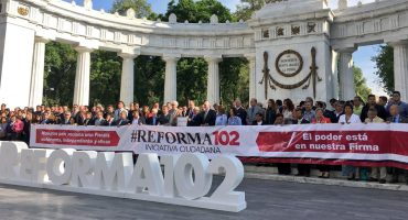 Coparmex lanza iniciativa ciudadana para la #Reforma102