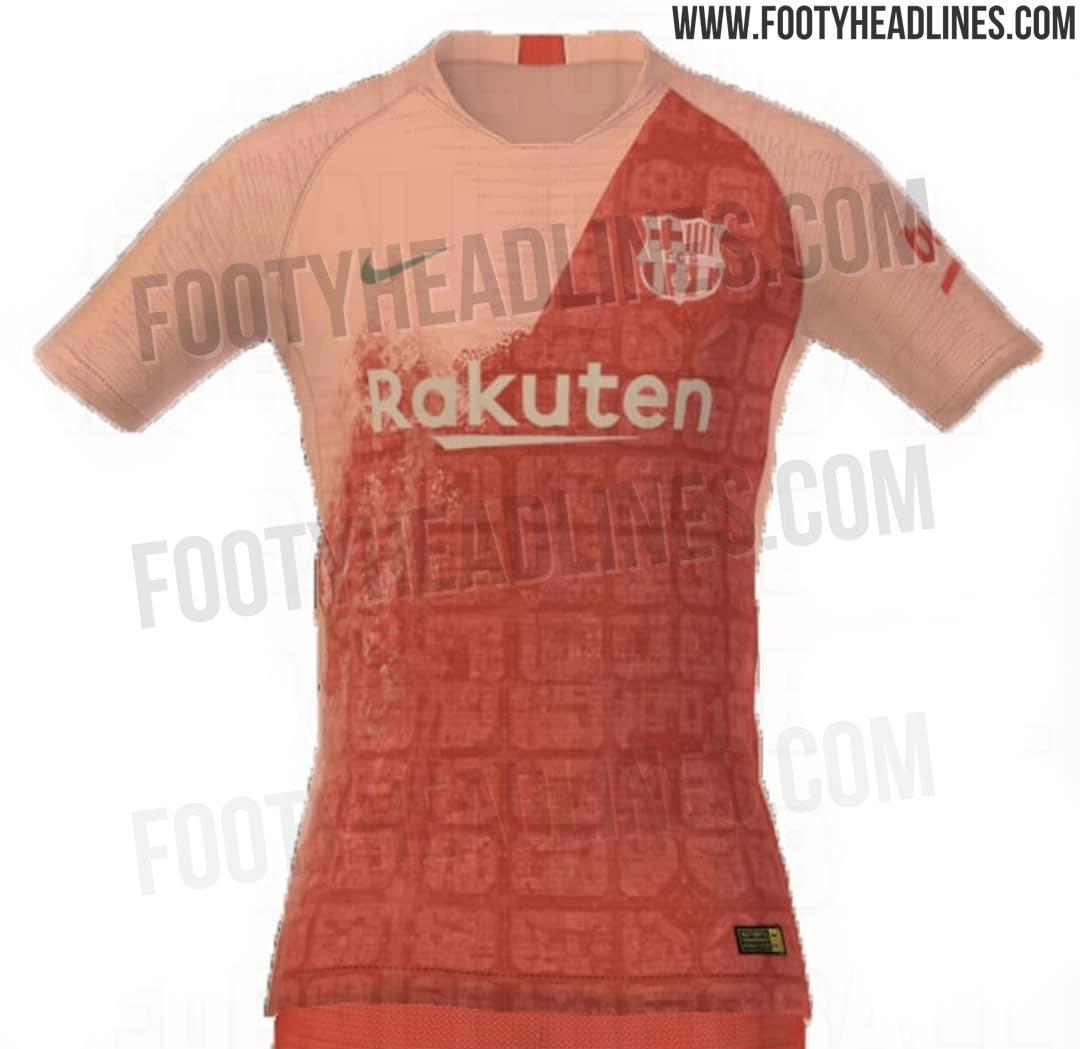 Filtran el tercer uniforme del Barcelona para la temporada 2018-19