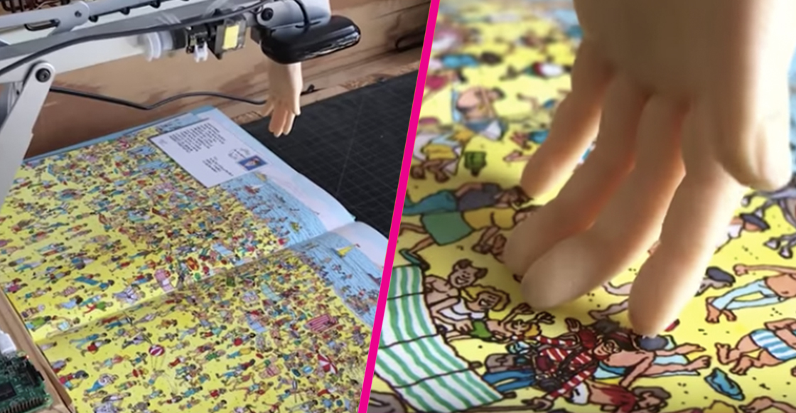 Robot usa inteligencia artificial para encontrar a Wally