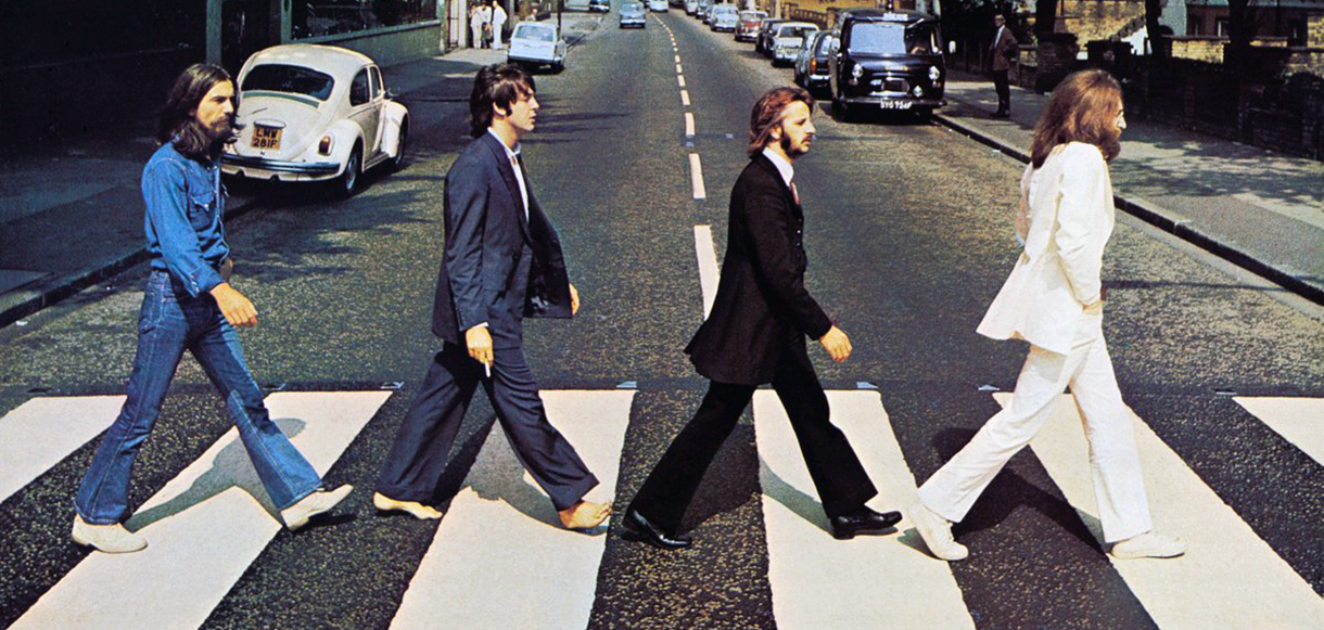 Why did the Beatles cross the street?  50 years of the Abbey Road photo