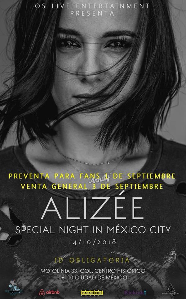 Alizee en México