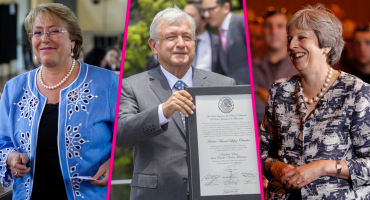 Movidito jueves: AMLO platica con Theresa May; luego va por Bachelet
