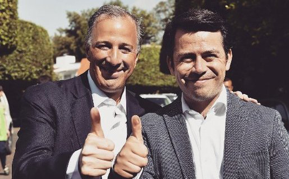 Antonio Rojas y José Antonio Meade