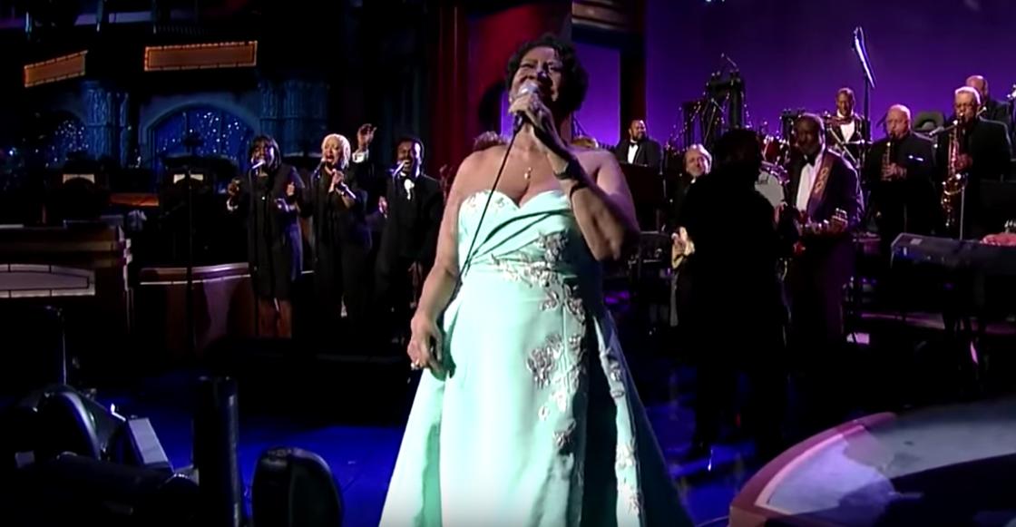 Aretha Franklin cantando cover de Adele