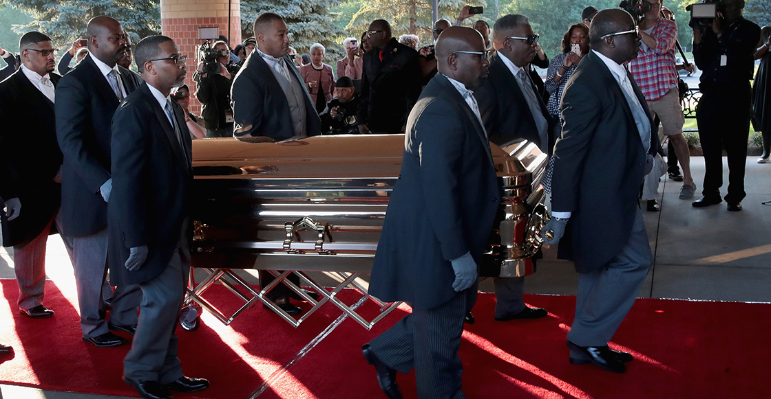 Honor a quien honor merece: Sigue el streaming del funeral de Aretha Franklin