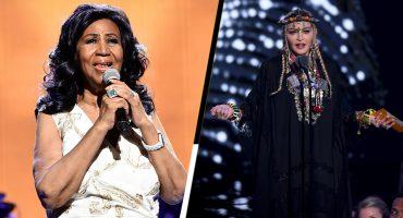¿Por qué el tributo de Madonna a Aretha Franklin en los MTV VMAs fue tan criticado?