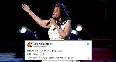 Adiós a una grande: Famosos se despiden de Aretha Franklin