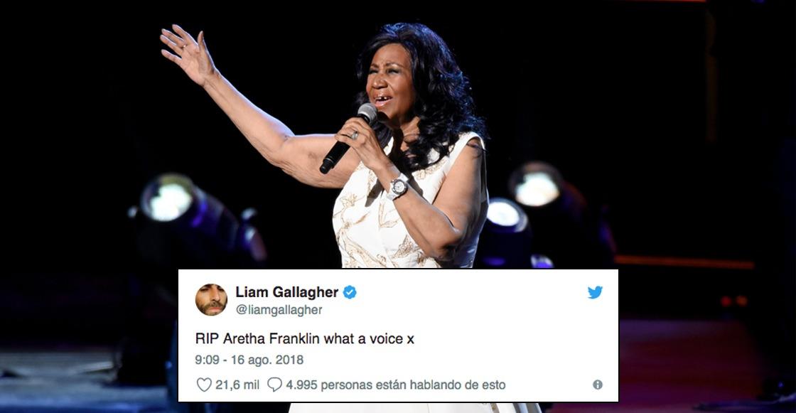 Aretha Franklin y las reacciones de su partida
