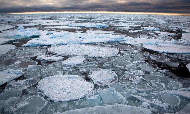Por primera vez, el hielo más grueso del Ártico se rompe
