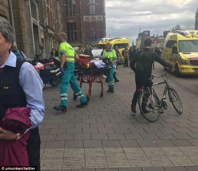 Un abatido y dos apuñalados — Tiroteo en Ámsterdam