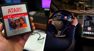 Tesla agregará juegos de Atari en su próxima actualización de software