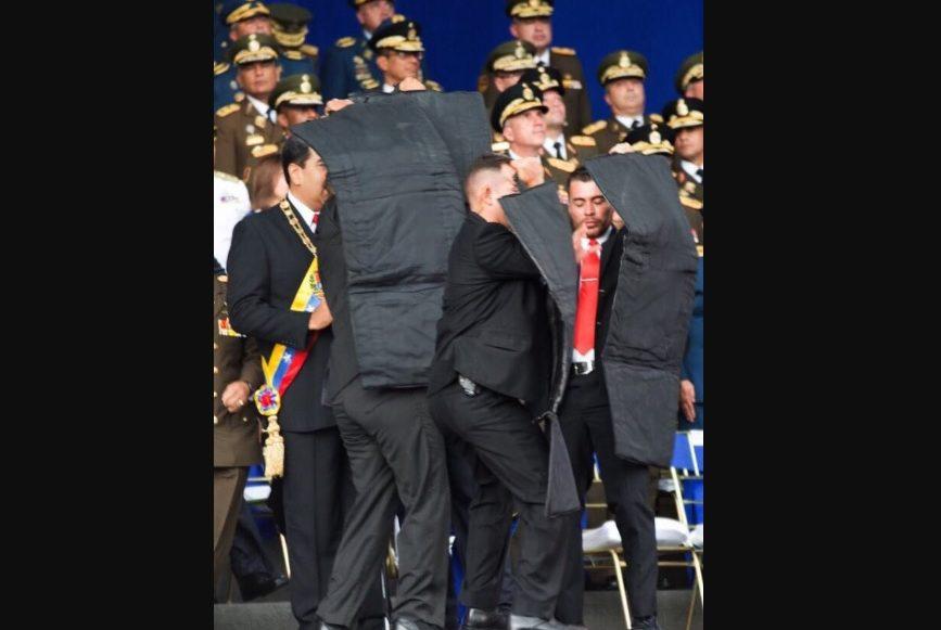 Atentado contra Nicolas Maduro