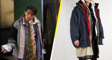 La jocosa escena de Joey se convierte en un costoso abrigo de Balenciaga