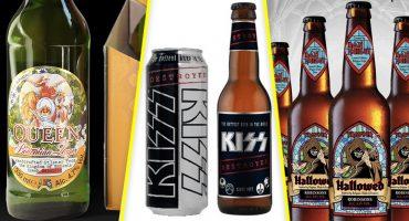 ¡Salud! Estas son las cervezas de las bandas que tienes que probar
