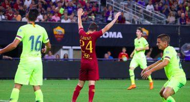 Barcelona pierde amistoso ante la Roma pese a gol de Malcom