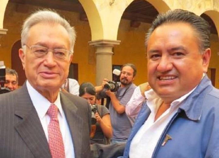 Manuel Bartlett y Martín Esparza