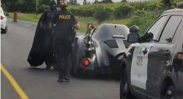 Cuando Batman fue detenido por la policía sólo por conducir