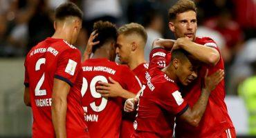 ¡Una máquina! Bayern Munich golea y gana la Supercopa de Alemania al Frankfurt